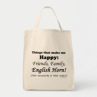 El cuerno inglés me hace feliz