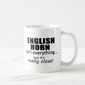 El cuerno inglés no es todo taza