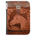 """El cuero """"caballo"""" occidental enciende la caja"""