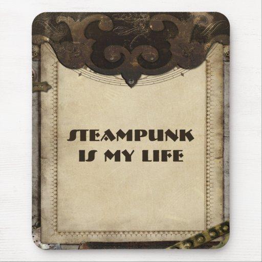 El cuero de Steampunk del Victorian tiene gusto de Mousepad