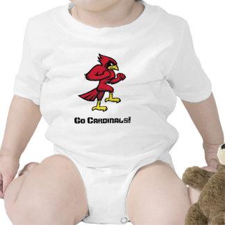 ¡El cuerpo completo de los cardenales de Raytown, Traje De Bebé