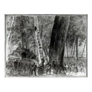 El cuerpo de Jean Paul Marat Tarjetas Postales
