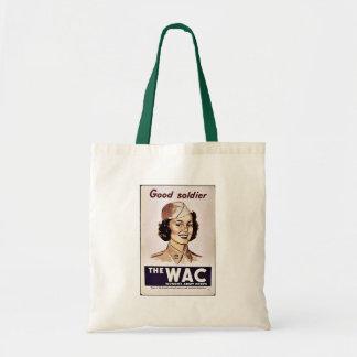El cuerpo del ejército para mujer de Wac Bolsa