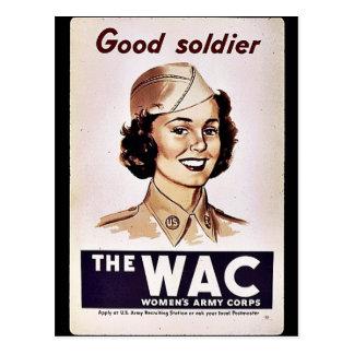 El cuerpo del ejército para mujer de Wac Postal