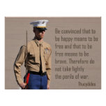 El Cuerpo del Marines manda y los peligros de la g Impresiones