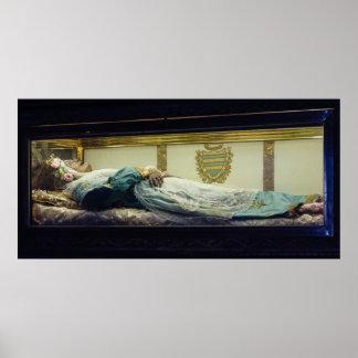 El cuerpo Mummified del santo Zita Sitha Citha Impresiones
