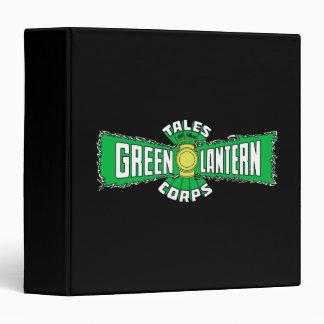 """El cuerpo verde de la linterna - logotipo verde carpeta 1 1/2"""""""