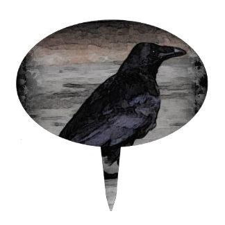 El cuervo figura de tarta