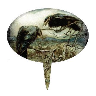 El cuervo figuras de tarta