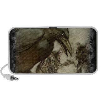 El cuervo notebook altavoces