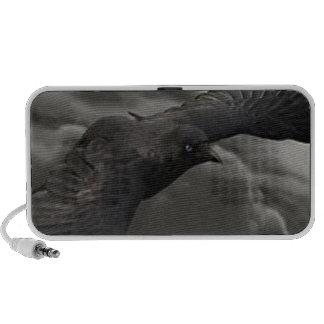 El cuervo laptop altavoz