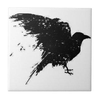 El cuervo teja  ceramica