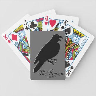El cuervo baraja de cartas bicycle