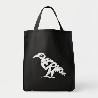 El cuervo bolsa tela para la compra