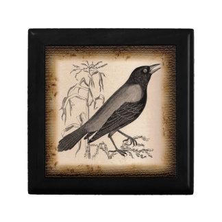 El cuervo caja de recuerdo