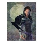 El cuervo céltico tarjetas postales