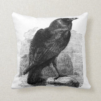 El cuervo de Edgar Allen Poe Cojines
