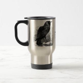 El cuervo de Edgar Allen Poe Taza De Viaje