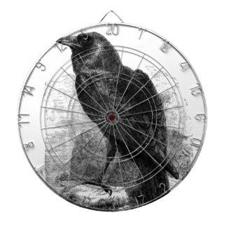 El cuervo tablero de dardos