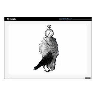 El cuervo, el cuervo y el runestone skins para 43,2cm portátil