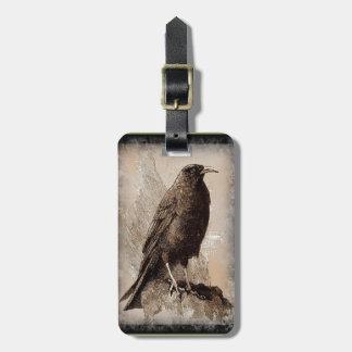 El cuervo etiquetas maleta