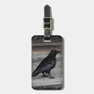 El cuervo etiqueta de maleta
