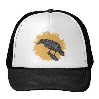 El cuervo gorros bordados
