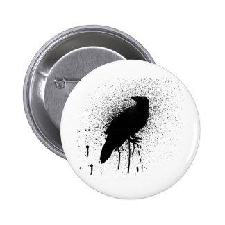 El cuervo negro pin