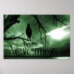 El cuervo - nunca más árbol de los rayos de sol -  posters