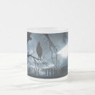 El cuervo - nunca más rayos de sol y azul del árbo taza