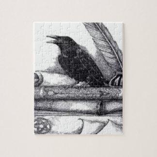 El cuervo rompecabeza