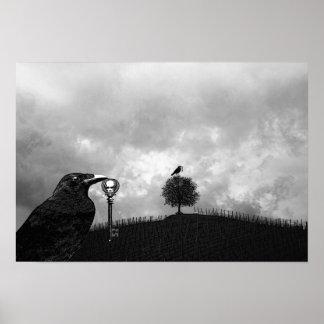 El cuervo recoge la llave maestra póster