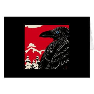El cuervo tarjetón