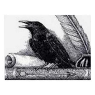 El cuervo tarjeta postal