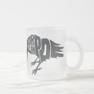 El cuervo taza de cristal