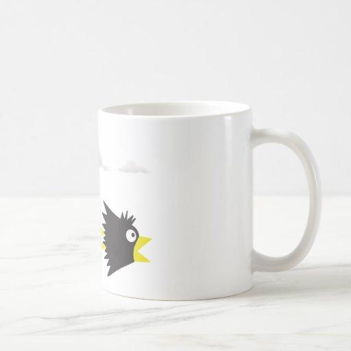 El cuervo tazas de café