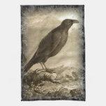 El cuervo toallas de cocina