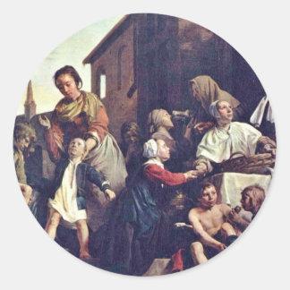 El cuidado de los huérfanos en enero De Bray (la Etiqueta Redonda