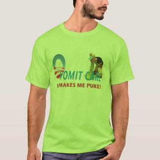 El cuidado de OVomit Puke la camisa