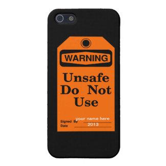 El cuidado no utiliza iPhone 5 funda