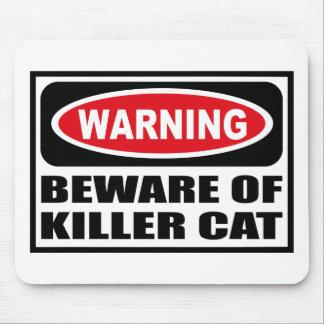 El cuidado SE GUARDA de CAT Mousepad del ASESINO