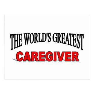 El cuidador más grande del mundo postales