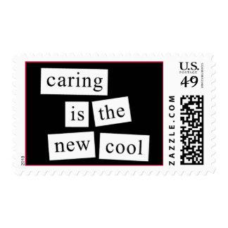 el cuidar es el nuevo se refresca sello postal