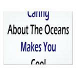 El cuidar sobre los océanos hace que usted se comunicado personalizado
