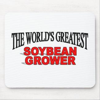 El cultivador más grande de la soja del mundo tapete de ratones