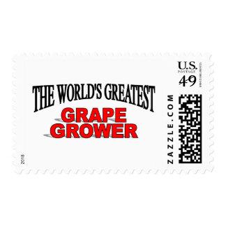 El cultivador más grande de la uva del mundo franqueo