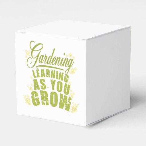 El cultivar un huerto - aprendiendo como usted cre paquetes para detalles de bodas