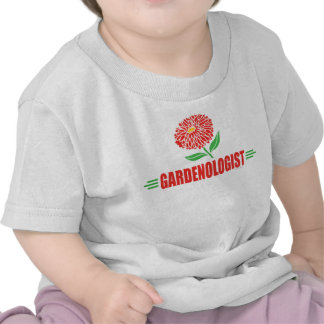 El cultivar un huerto de flor divertido camisetas