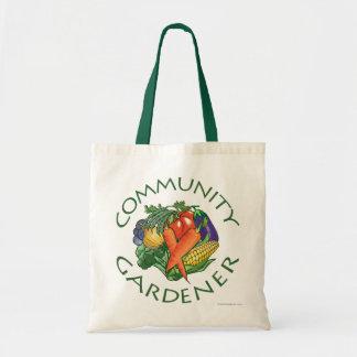 El cultivar un huerto de la comunidad bolsas