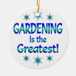 El cultivar un huerto es el más grande adorno